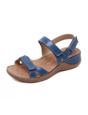 Chaussures plates rétro antidérapantes à couture de plage Chaussures d'été Sandales pour femmes