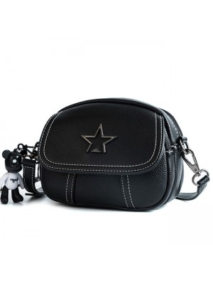 Leisure Star Lady PU Small Messenger Bag Sac à bandoulière