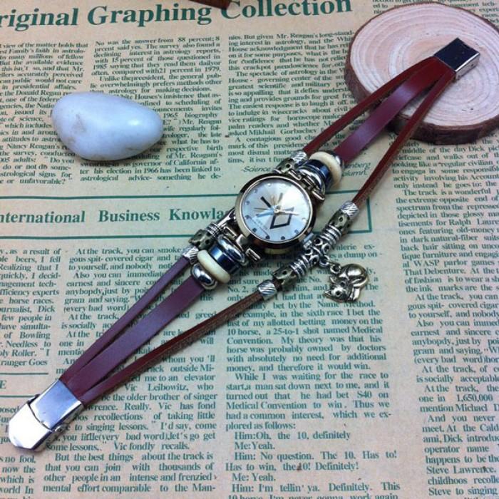 Original Un Chat Charme Acier Bracelet Regardez