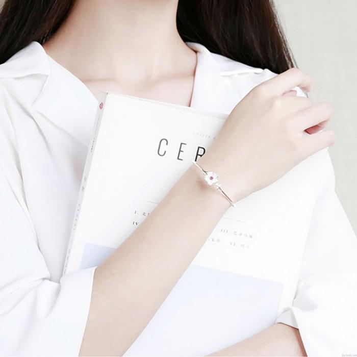 Bracelet en forme de fleur pour femmes avec fleurs pour femmes