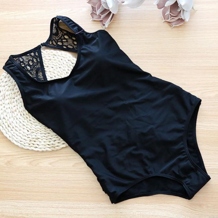Maillot de bain noir une pièce maillot de bain une pièce sexy triangle triangle maillot de bain