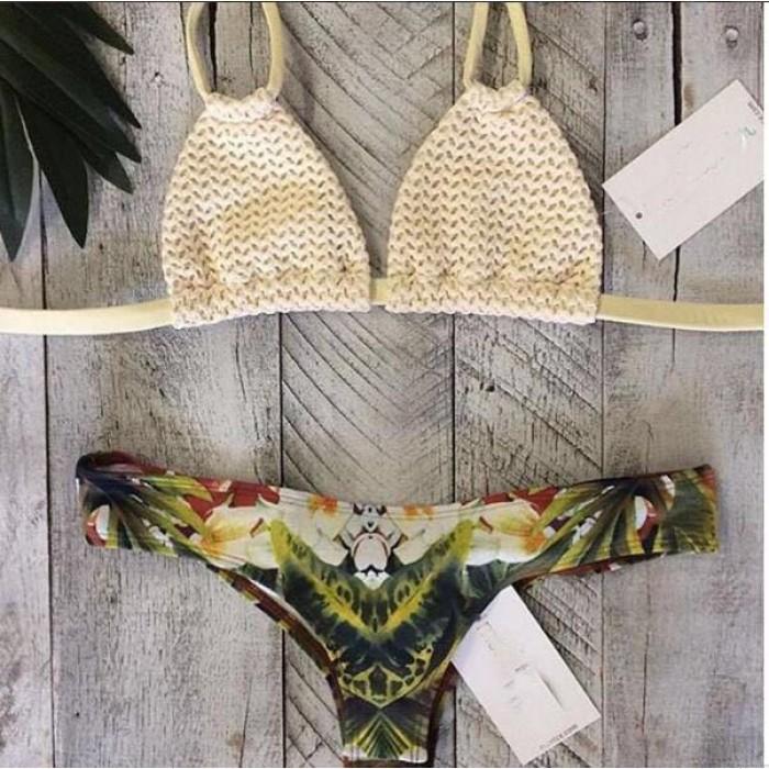 Maillot de bain blanc maillot de bain bikini sexy maillot de bain maillot de bain