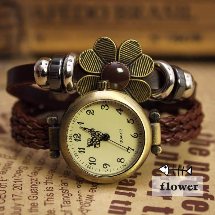 Bohémien Rétro Loisir Corde Bracelet Regardez