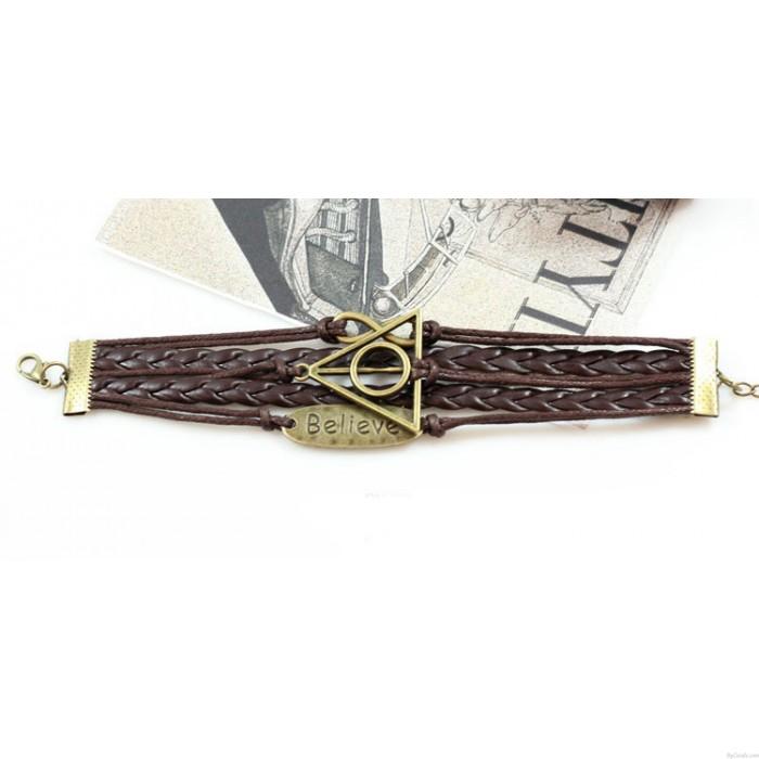 Bracelet Croire les Reliques de la Mort Infini