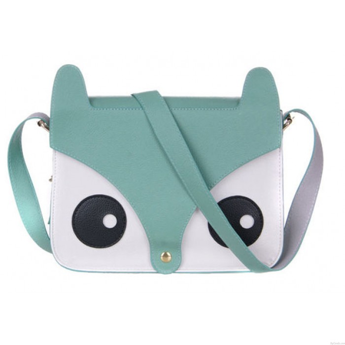 Retro Owl Fox  Messenger Handbags