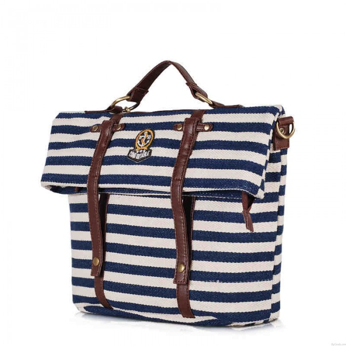 Marine Bande Multifonctions Voyage School Backpack Sac à main Sac d'épaule Sac de messager
