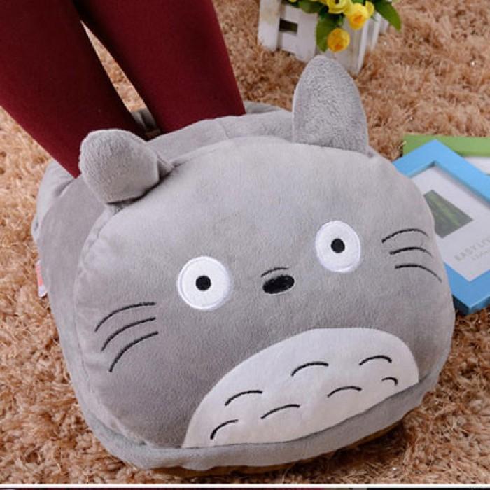 Cartoon Leopard Galesaur Doraemon Cat USB Warm Foot Shoes Warmer