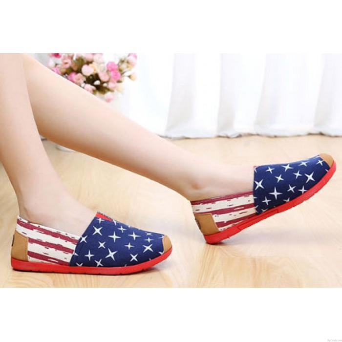 Style décontracté Toile Lazy respirant chaussures