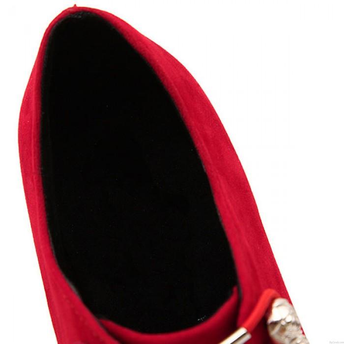 Boîte de nuit Chaîne Mince Haut Talon Chaussures