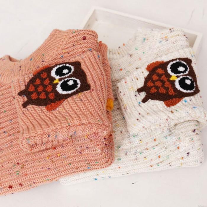 Lolita Double Les poches coloré Point Chouette Sucré Université Filles Chandail