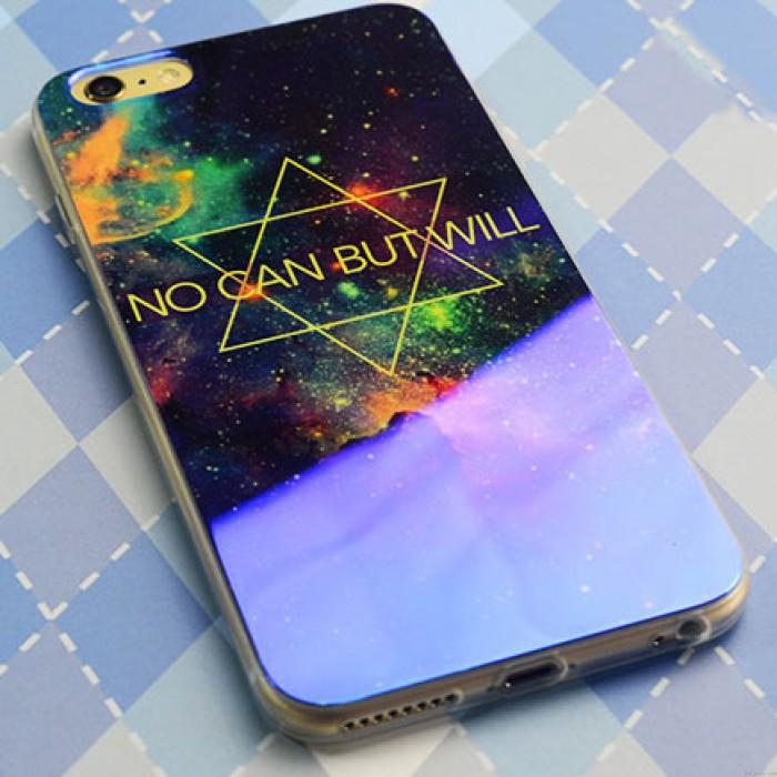 Fantaisie Univers Etoile Silice Gel Mince Doux Cas Pour Iphone 5 / 5S / 6 / 6Plus
