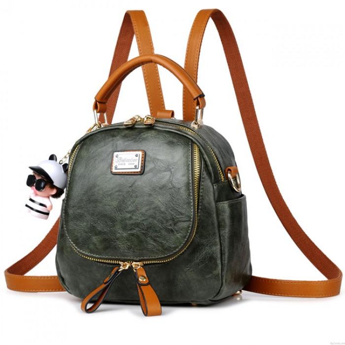 Rétro Multi-fonction Petit sac à bandoulière carré sac à main sac à dos