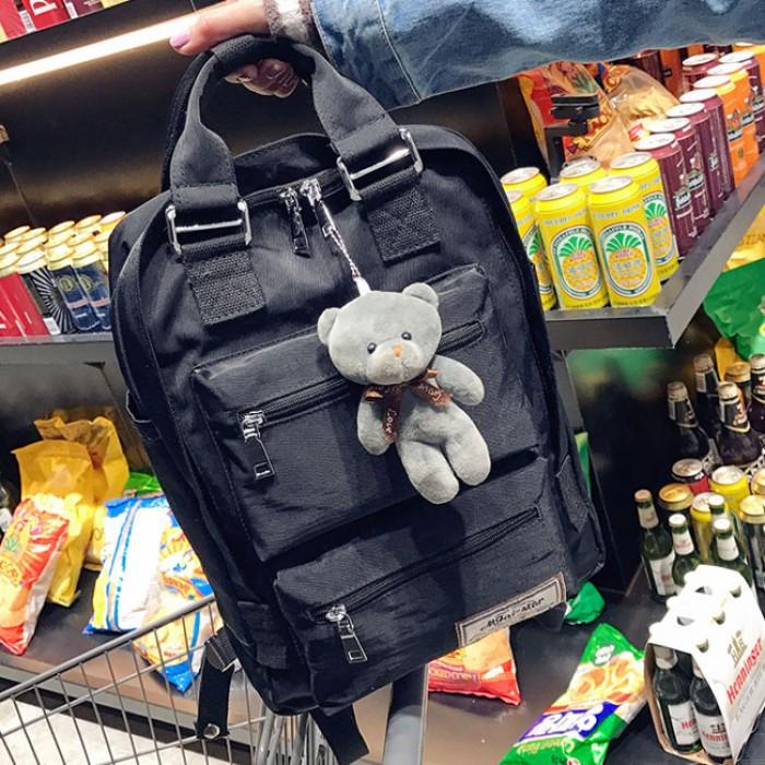 Loisir Oxford Sac d'épaule Sac d'école Campus Sac d'ordinateur Grand sac à dos multi poches