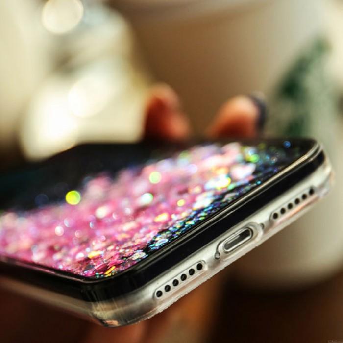 Dessin animé mignon Stéréo Lapin Ours Poussin Glitter Quicksand Cas Téléphone Iphone 6/6 Plus / 6s / 6s Plus / 7/7 Plus