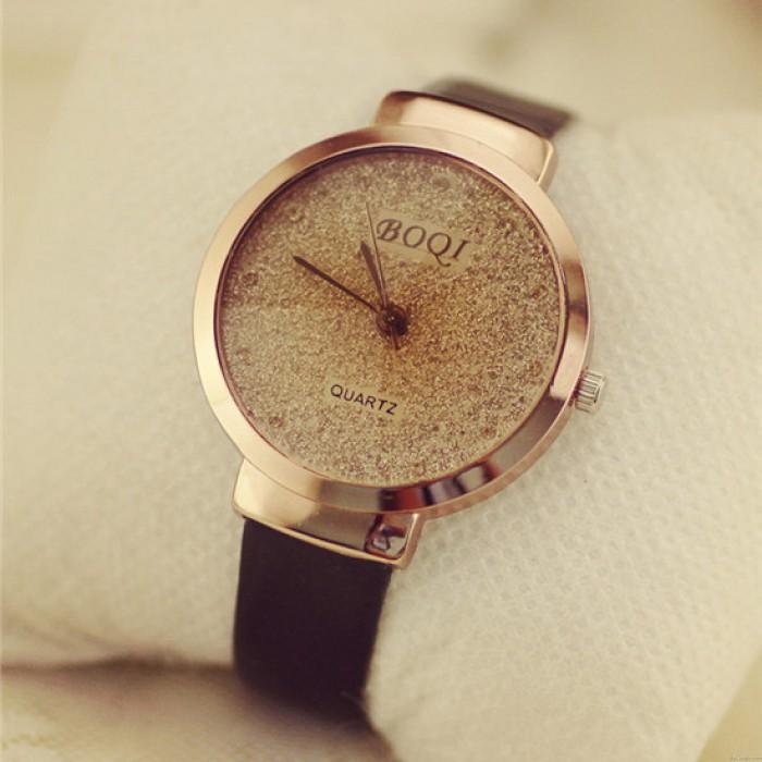 Facile Plage de sable Étoilé Diamant Quartz Regardez