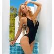Sexy Espalda playa Traje de baño Uno Pieza Cabestro Bikini
