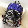 Moda pirata Pentagram impresión Ocio mochila