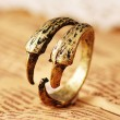 Vendimia Águila Garra anillos Joyería