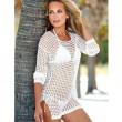 Vestido de Bikini para mujer Camisa tejida Protección solar Ropa Blusa Ropa de playa