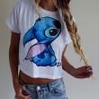 Camiseta estampada de animales de dibujos animados