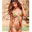 Trajes de baño de geometría Bikini de traje de baño de impresión Biquini
