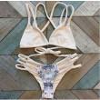 Trenzas tejidas Serpentine Sexy Bikini Set traje de baño Beach trajes de baño para mujer