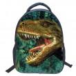 Linda Dibujos animados dinosaurio Kindergarten Bag niños mochila