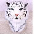 Único Dimensional Simulación Tigre Cabeza Animal Mochila