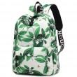Ocio hojas flor tinta estilo escuela mochila mochila estudiante