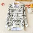 Unique Warm Irregular Long-Sleeved Sweater