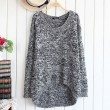 Vintage Hollow Out Flower Round Neck Sweater &Cardigan