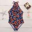 Traje de baño bikini pequeño Daisy Small Siamese Bandage traje de baño de una pieza