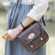 Nueva hebilla Mini estilo británico Mujer Bolsa de mensajero Bolsas de hombro