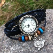 Retro Cute  Snail Bracelet Watch