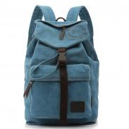 Ocio Vendimia Lona Bolsa de hombro/ Mochila/ Bolsa para la escuela