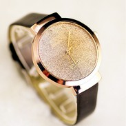Reloj de cuarzo de diamantes Starry simple de Sands