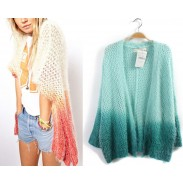 Vintage Gradient Color knit &Cardigan