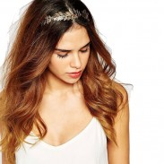 Diadema de hoja de moda Hojas Aleación Pinza de pelo Accesorios para el cabello