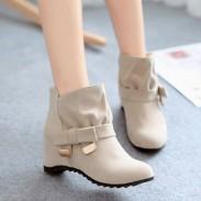 Zapatos para aumentar la altura Botas de nudo de arco Martin
