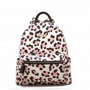 Moda Leopardo Impresión Mochilas Bolsa para la escuela