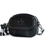 Leisure Star Lady PU Pequeña bolsa de mensajero bandolera