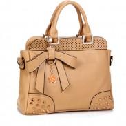 New Style Elegant Rivet Bow Handbag