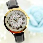 Reloj creativo de 12 constelaciones.