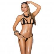 Sexy Hollow T pants Sling Summer Traje de baño Tentación Lencería Bikini multifunción