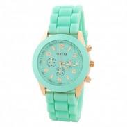 Fashion Mint Green Sports Watch