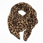 Fashion Leopard Print Infinity Scarf