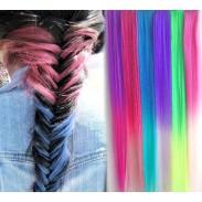 Clip de gradiente de moda extensiones de trama del pelo