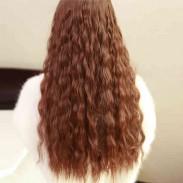 Forme la extensión rizada floja de la trama / del pelo del clip