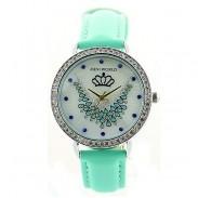 Fashion Crown Phoenix Mint Green Watch