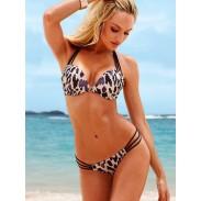Moda Sexy Estampado de leopardo Bikini traje de baño
